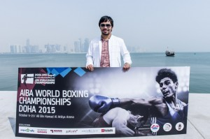 Eight-weight world champion Manny Pacquaio was a special guest at the AIBA World Boxing Championships here today
