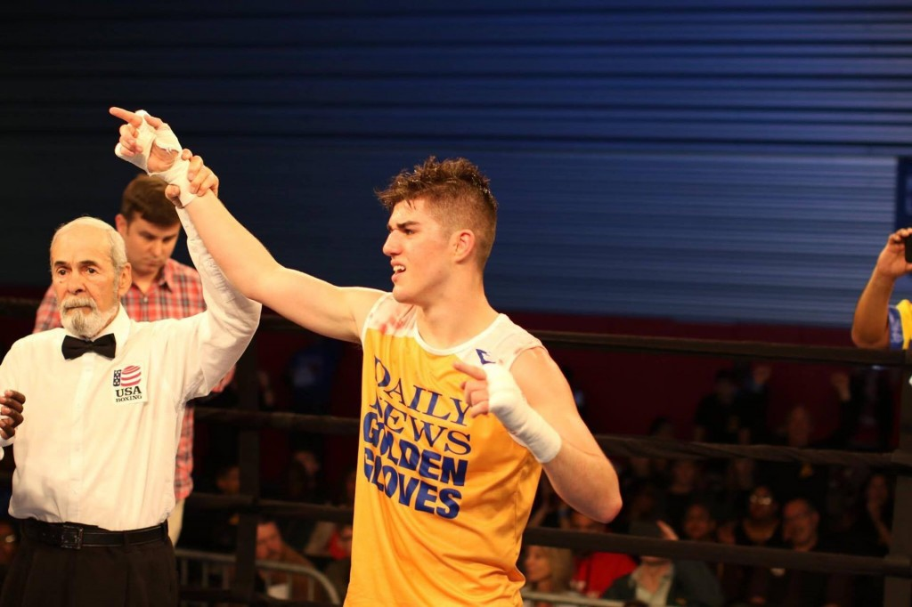 """Reshat Mati fiton """"Daily News – Golden Gloves"""""""